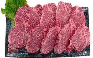 KY03【叶え屋】A4以上!九州産黒毛和牛ヒレステーキ10枚(豊後牛・頂)
