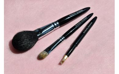 化粧筆 咲fude 3本セット