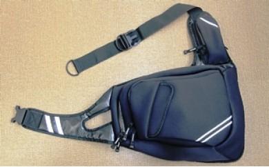 B29029 ウエットスーツ素材で作ったワンショルダー防水バッグ・通