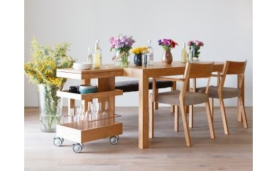 BG134 CARAMELLA Dining Table 91224 oak【982,500pt】