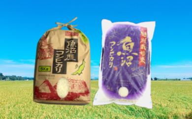 【B2901】魚沼産コシヒカリ&特別栽培米セット