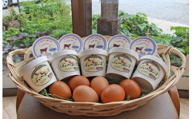 黒富士農場特製バニラ&小豆アイスクリーム 10個セット