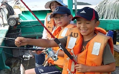 きす釣り体験 実施時期5月~8月(8月13日~15日休み)