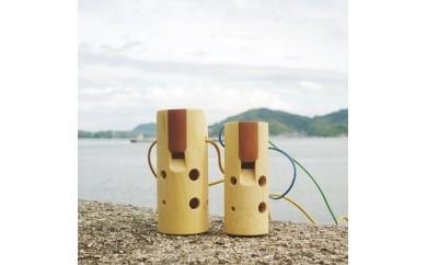 【D-60】みかんの木のオカリナ ドレミかん笛 (七曜工房 上浦町)  3.0P