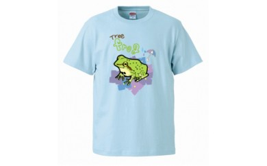 A-72【支援型】Tシャツ1枚L(障がいを持った方のデザイン)