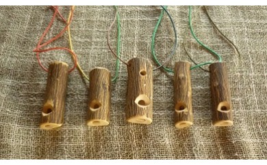 【C-21】みかん笛鳥笛シリーズ5種(七曜工房 上浦町)  2.0P