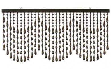 [№5824-0151]昭和の珠のれんアクセサリータイプAC-40ブラウン