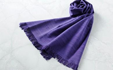 [№5659-0355]「伝統的工芸品」伊那紬(スカーフ)⑥