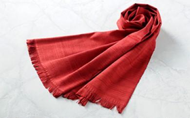 [№5659-0350]「伝統的工芸品」伊那紬(スカーフ)①