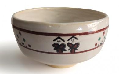 [№5990-0033]奈良絵抹茶茶碗