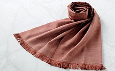 [№5659-0357]「伝統的工芸品」伊那紬(スカーフ)⑧