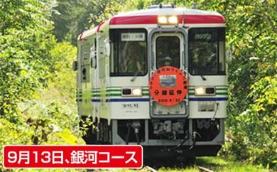 [№5524-0015]【9月13日】りくべつ鉄道運転体験銀河コース