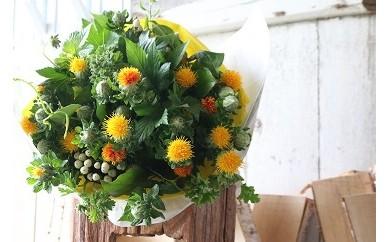 AM02 山形の県花 紅花のブーケ