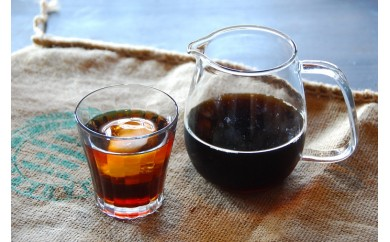A425 「ハナウタコーヒー」テトラんコーヒー+水出し珈琲セット