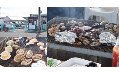 K003 海鮮焼処 海の幸海鮮バーべキュー(50人)