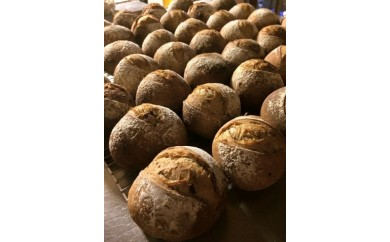 1-13 笠寺山椿館の(小麦酵母)ラム酒レーズンパン