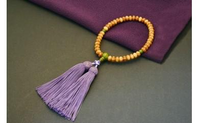 F002 1400年の歴史を誇る近江の数珠職人が手掛けた念珠(女性用)【22,000pt】