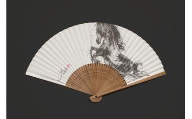 【9P】墨絵アートグッズ『Yu-ki Nishimoto WORKS 扇子』 G00902