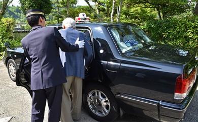 [№5636-0112]親孝行タクシー券(補助券)12枚綴り