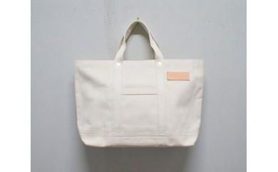 No.480 George_1 WH / トートバッグ 鞄 かばん カバン 4号帆布 A4 国産 白 ホワイト オシャレ 大分県 おすすめ