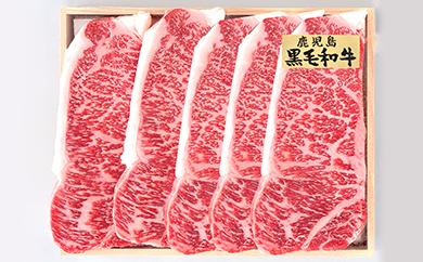 8H-03鹿児島県産黒毛和牛 ステーキ堪能2回コース