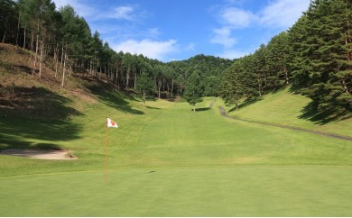 [№5865-0109]佐久春日野カントリー倶楽部 休日ゴルフプレー券(1名様分)