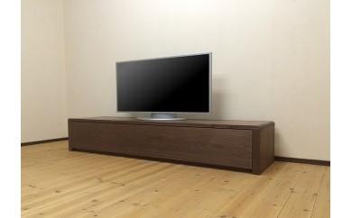 BS43 存在感あふれるウォールナット無垢材を使用した180cmのテレビボード[TV55]【630,000pt】