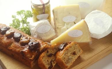 【北海道黒松内町産】アンジュ・ド・フロマージュ ナチュラルチーズ・焼き菓子詰め合わせ