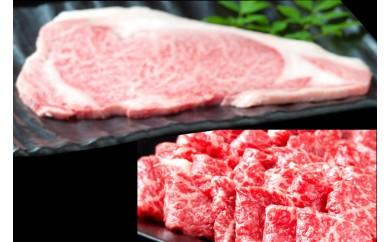 J122最高級伊万里牛ステーキと焼肉用伊万里牛と極みダレ