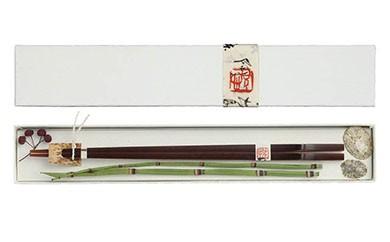 AG01 煤竹(すすたけ)箸 1膳 【10000pt】