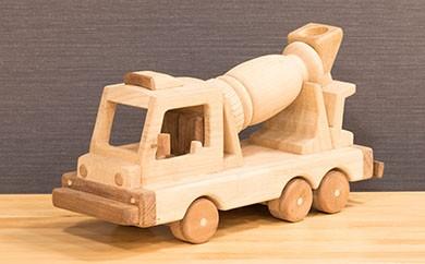 [G-02] 手作り工芸品「コンクリートミキサー車」