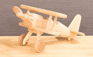 [C-09] 手作り工芸品「プロペラ飛行機」