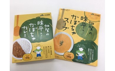 G009 加賀の味平かぼちゃカレー・スープセット 【20pt】