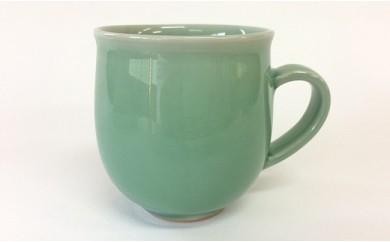 A20-6 茂正工房 翡翠丸マグカップ