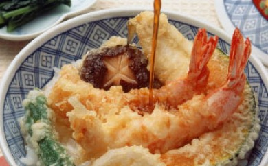 K029 老舗かね久総本店「そばの汁&天丼の汁セット」