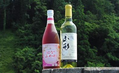 【甘口派の方必見!】朝日町ワイン「はなふわわ・ナイアガラ」赤白甘口セット