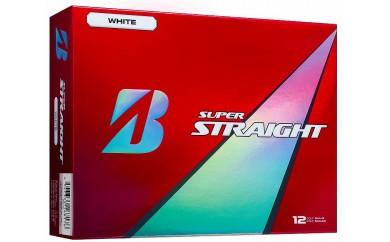 T21-01 SUPER STRAIGHT ホワイト ゴルフボール