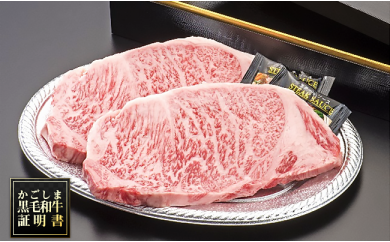 C-013 【A5ランク】黒毛和牛ステーキ(250g×2枚)
