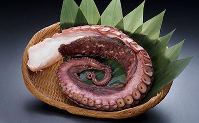[Ka403-A032]【極太サイズ】お刺身用北海道産 たこ足1本 1.0㎏前後