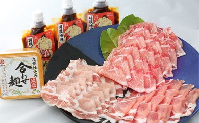 C75 九州の味を自慢の豚で食べ比べ 佐賀の味噌と柳川の相撲味噌のセット