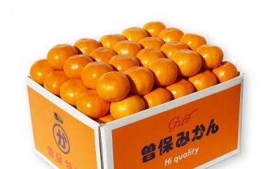 [№5803-0177]【秀品】香川県産 完熟厳選の曽保みかん 5kg
