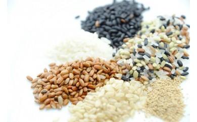 A-187 新保さんの有機栽培古代米 5種とアマランサス