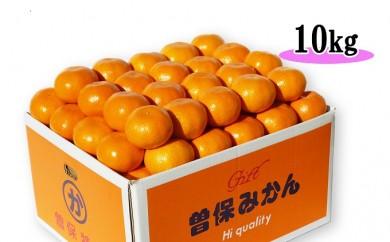 [№5803-0178]【秀品】香川県産 完熟厳選の曽保みかん 10kg