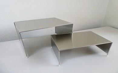 ステンレス製小物棚板仕様2個組