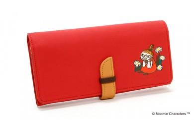 Moomin×KITAMURAコラボレーション 長財布  リトルミイ