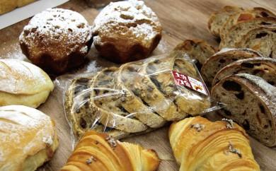 B-1★3枚切り 国産小麦とバターを使った パンいろいろ詰合せ(純国産食パン2斤付)