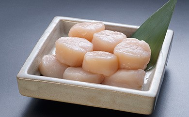 [Ka403-B051]【お刺身用】帆立貝柱(玉冷凍)500g