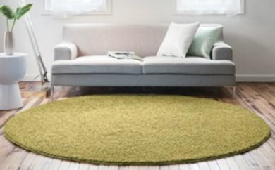 [№5809-1667]スペースカーペット ジャスパー (ベージュ) 正方形 200×200cm (日本製)