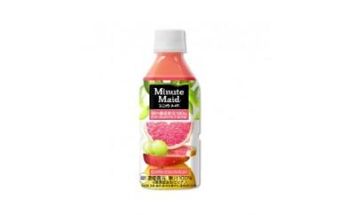 ミニッツメイド朝の健康果実 ピンクグレープフルーツ・ブレンド 350ml×24本