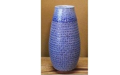 B711 丸田窯 塩釉 花瓶(口形:丸)